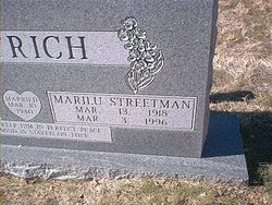 Marilu <I>Plaxco</I> Dittrich-Streetman