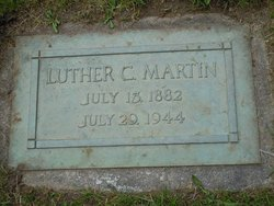 Luther C Martin