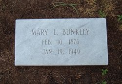 Mary G <I>Lowe</I> Bunkley