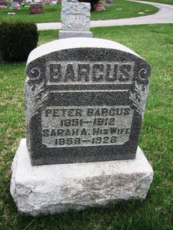 Sarah Ann <I>Day</I> Barcus