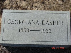 Georgiana <I>McLeod</I> Dasher