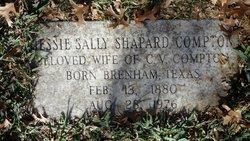 Jessie Sally <I>Shapard</I> Compton