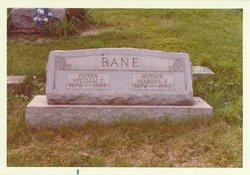 "Martha Frances ""Mattie"" <I>Bane</I> Bane"