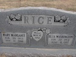 Mary Margaret <I>Heffernan</I> Rice