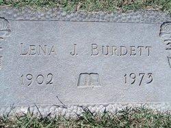 Lena R. <I>Jackson</I> Burdett