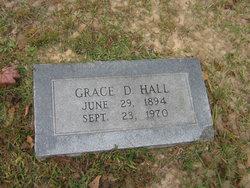 Grace D. <I>Luzader</I> Hall
