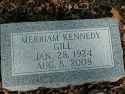 Merriam <I>Kennedy</I> Gill