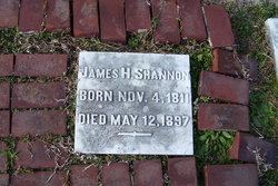 James H Shannon, Sr