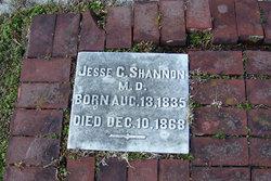 Dr Jesse Clement Shannon