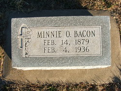 Minnie O <I>Danielson</I> Bacon