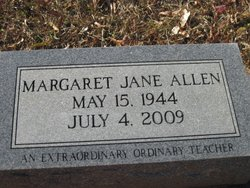 Margaret Jane Allen