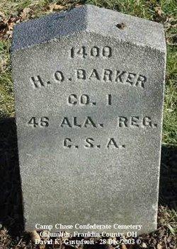 Pvt Herold O. Barker