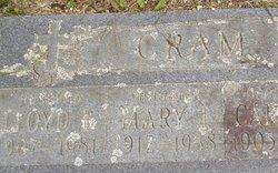 Mary J <I>Pratt</I> Cram
