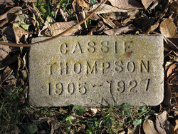 Cassie Voncyle Thompson