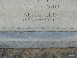 Alice Lee <I>Anderson</I> Cunningham