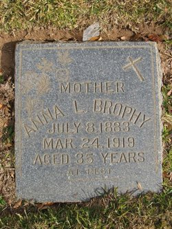 Anna Laura <I>Patterson</I> Brophy