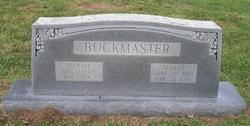 Sarah Dulcenia <I>Beaver</I> Buckmaster