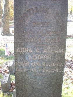 Annie Catherine <I>Breisch</I> Allam