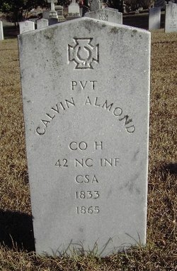 Pvt Calvin Almond
