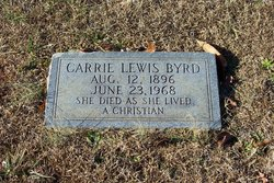 Carrie Lewis Byrd