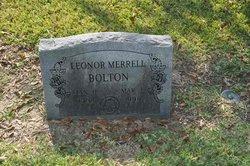 Leonore <I>Merrell</I> Bolton