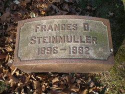 Frances D. Steinmuller