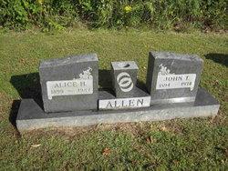 Alice Helen <I>Bonnell</I> Allen