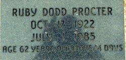 Ruby Lorene <I>Sanders</I> Proctor