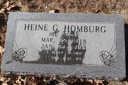 Heine G. <I>Jacoby</I> Homburg