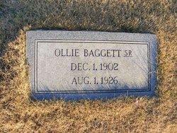 Ollie Baggett, Sr