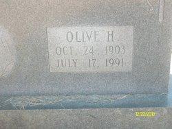 Olive Lee <I>Hagler</I> Wallace