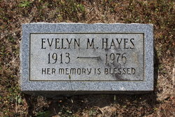 Evelyn M Hayes