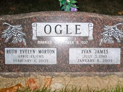 Ruth Evelyn <I>Morton</I> Ogle