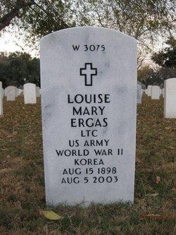 Louise Mary <I>Mathisen</I> Ergas