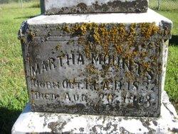 Martha Malvina <I>Bottorff</I> Mounts