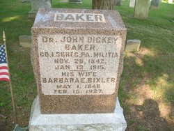 Barbara E <I>Bixler</I> Baker