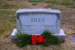 """Annette """"Nettie"""" <I>Oplinger</I> Siley"""