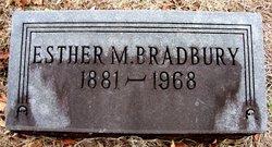 Esther Malinda <I>McFarland</I> Bradbury