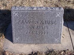 "Franz August ""Frank"" Kruse"