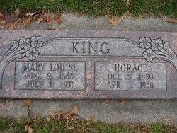Mary Louise <I>Higgs</I> King