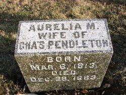 Aurelia Maria <I>Buffington</I> Pendleton