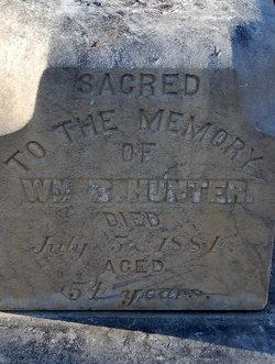 William B Hunter