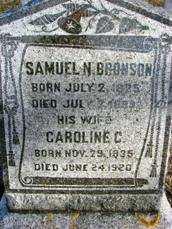 Caroline C <I>Lyon</I> Bronson