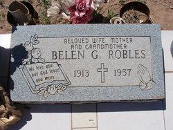 Belen <I>Gonzales</I> Robles