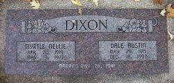 Myrtle Nellie <I>Johnson</I> Dixon
