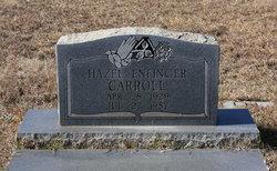 Hazel <I>Enfinger</I> Carroll