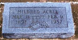 Mildred Jackson <I>Hill</I> Acree
