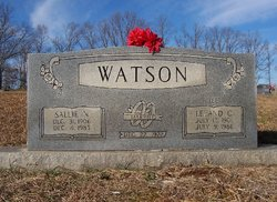 Sallie Nancy <I>Goforth</I> Watson