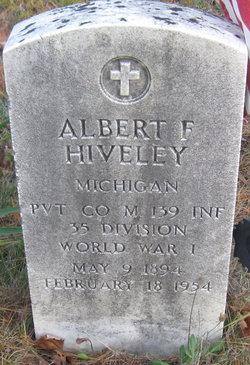 Albert F Hiveley