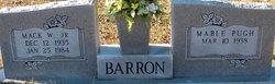 Mack W Barron, Jr
